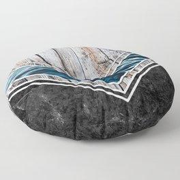 Striped Materials of Nature II Floor Pillow