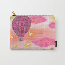 Pink Balloons Carry-All Pouch