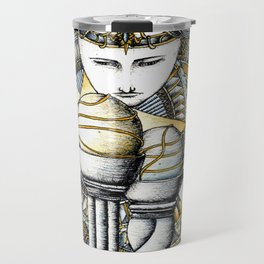 Lady of light Travel Mug
