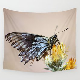 Butterfly with torn wings Wall Tapestry