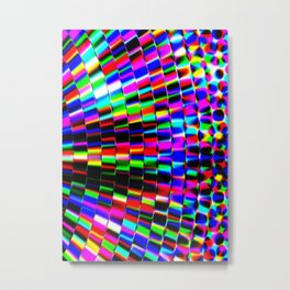 Violet Rays XII Metal Print