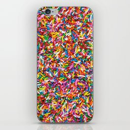 Rainbow Sprinkles Sweet Candy Colorful iPhone Skin