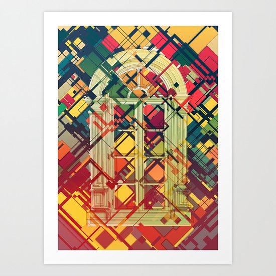 Looking Back Art Print