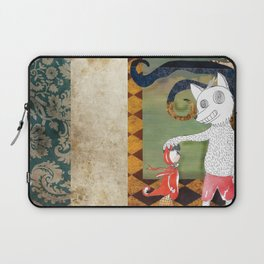 Little Red Riding Hood II Laptop Sleeve