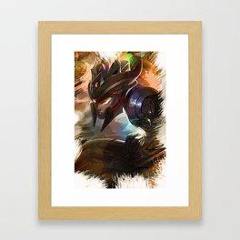 League of Legends KALISTA Framed Art Print