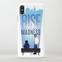 Rise Above The Madness iPhone Case