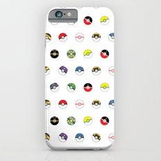 Cute Pokeball Pattern Slim Case iPhone 6s