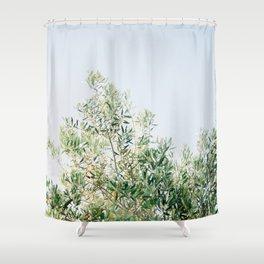 The olive tree | Italy fine art travel photography | Ostuni art Shower Curtain