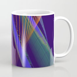 curved lines in architecure Coffee Mug