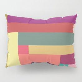 Color Rods 4 Pillow Sham