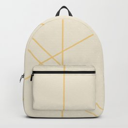 Geometric Orange Creamsicle Backpack