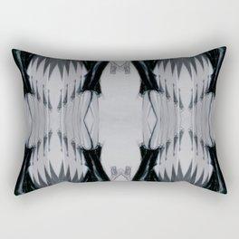 Black dress (Oh, those curves, baby!) Rectangular Pillow