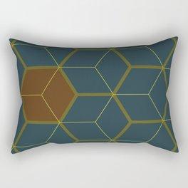 Hex1 Rectangular Pillow