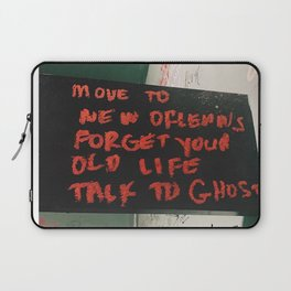 New Orleans Ghost Stories Laptop Sleeve