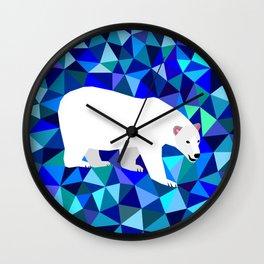 Rider of Icebergs Wall Clock