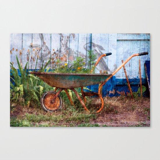 In the Magical Garden Canvas Print