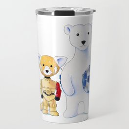 Walter the Red Panda and Jack the Polar Bear Travel Mug