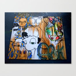 multiERSK Canvas Print