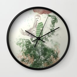 Muse of Ents Wall Clock