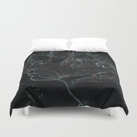 acid Duvet Covers featuring Acid by Christina Marie