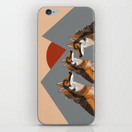 Totem Iberian wolf iPhone Skin