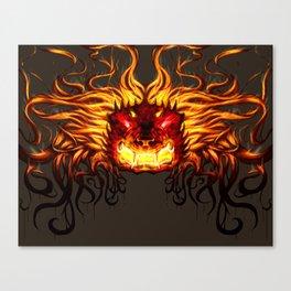 Foo Dog Canvas Print