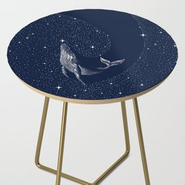 starry whale Side Table