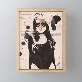 Andrea Framed Mini Art Print