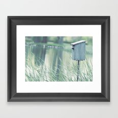 {Swallow House} Framed Art Print