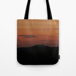 Somerset Sunset Tote Bag