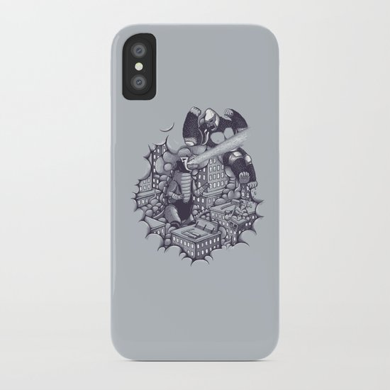 Lucha Kaiju iPhone Case