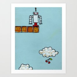 Pondering the Problems of Low Hanging Fruit Art Print