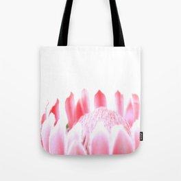 Pink Pink Protea Tote Bag