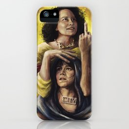 Broad Saints iPhone Case