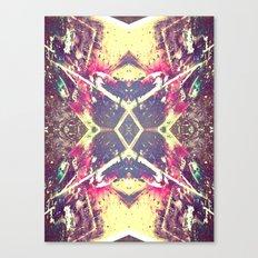 Paint Splatter Canvas Print