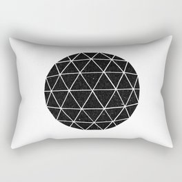 Geodesic Rectangular Pillow