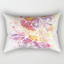 Beautiful Nature Watercolor Rectangular Pillow