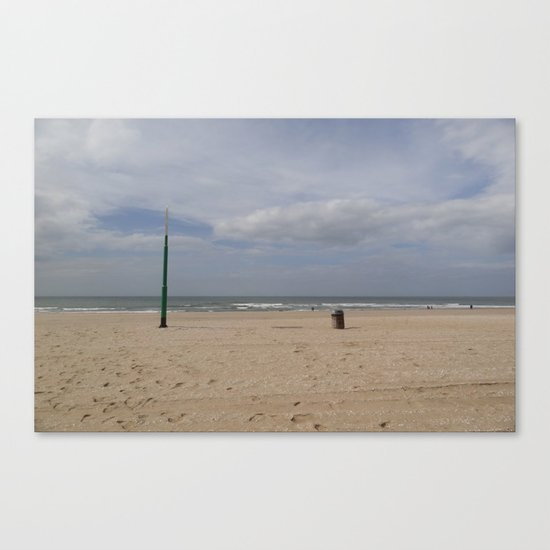 The Bin and the Latern Canvas Print