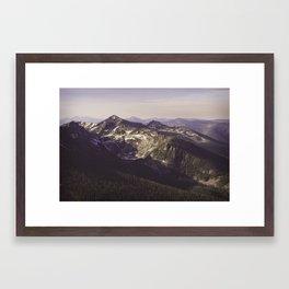 Hunt Lake Framed Art Print