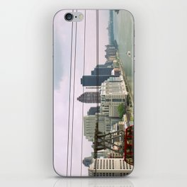 Roosevelt Island Tramway Passing By, New York City iPhone Skin