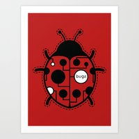 bugs Art Prints featuring bugs by Yanmos