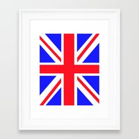 uk Framed Art Prints featuring UK by the power of Mars