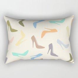 High Heel Shoes Art Rectangular Pillow