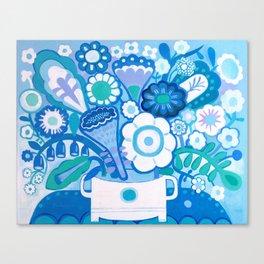 Ibiza Bouquet Canvas Print