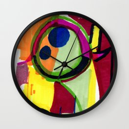 Frog of the Loom Wall Clock