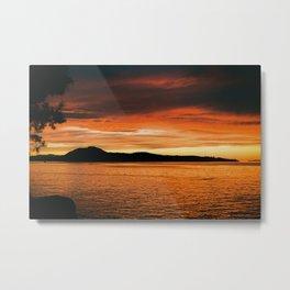 Van Isle Sunset Series II Metal Print