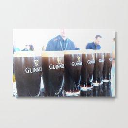 Plenty o' Guinness Metal Print