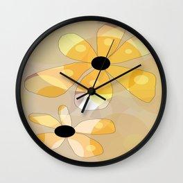 FLOWERY DINA  / ORIGINAL DANISH DESIGN bykazandholly Wall Clock