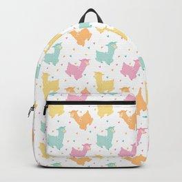 Pastel Kawaii Llamas Backpack