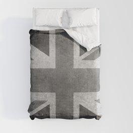 Union Jack B&W 3:5 Comforters